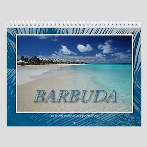 Beautiful Barbuda Wall Calendar
