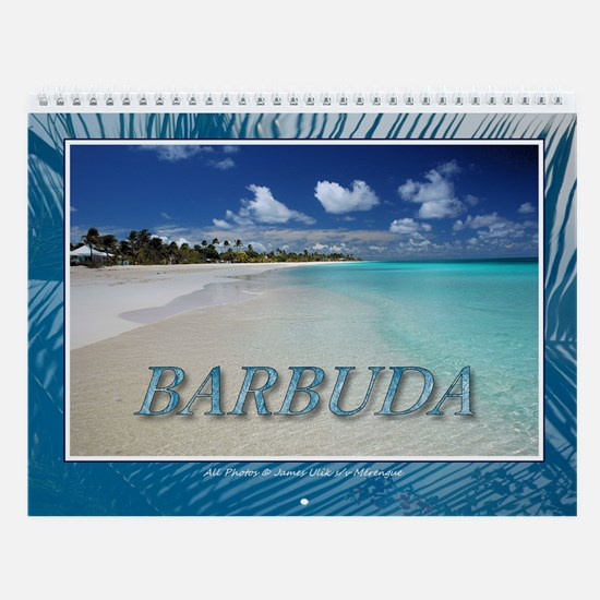 Beautiful Barbuda Wall Calendar