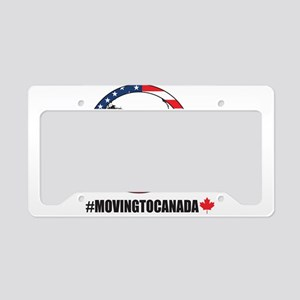 Moving To Canada License Plate Holder