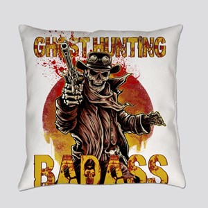 Badass outlaw Everyday Pillow