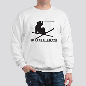 Ski Crested Butte COLORADO Sweatshirt