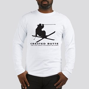 Ski Crested Butte COLORADO Long Sleeve T-Shirt