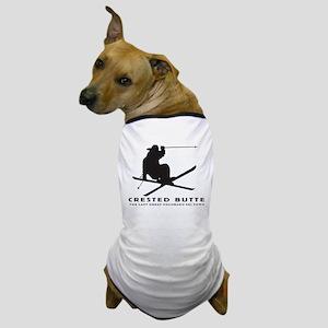 Ski Crested Butte COLORADO Dog T-Shirt