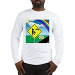 Leprechaun Crossing Long Sleeve T-Shirt