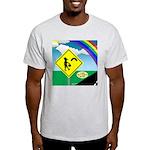 Leprechaun Crossing Light T-Shirt