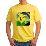 Leprechaun Crossing Yellow T-Shirt