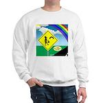 Leprechaun Crossing Sweatshirt
