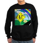 Leprechaun Crossing Sweatshirt (dark)