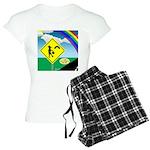 Leprechaun Crossing Women's Light Pajamas
