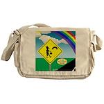 Leprechaun Crossing Messenger Bag
