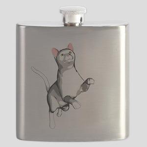 cute cat Flask