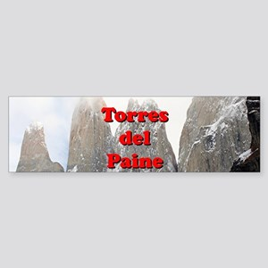 Torres del Paine, Chile Bumper Sticker
