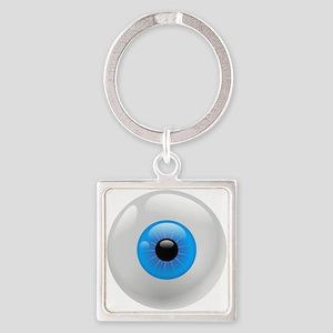 Giant Blue Eye Keychains