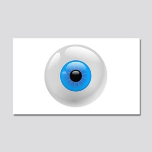 Giant Blue Eye Car Magnet 20 x 12