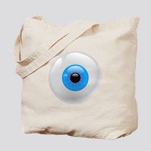Giant Blue Eye Tote Bag