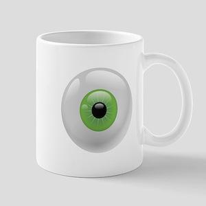 Giant Green Eye Mugs