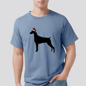 Doberman Santa T-Shirt