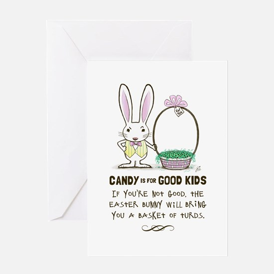Easter Poop Greeting Card