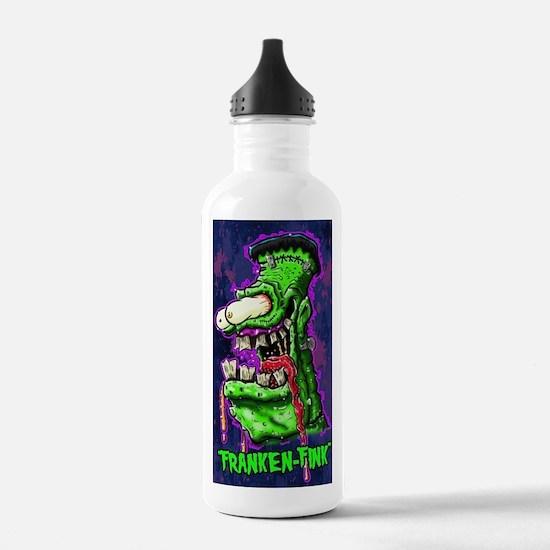 Cute Rat rods Water Bottle