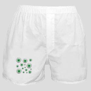 Creepy Green Eyes Boxer Shorts