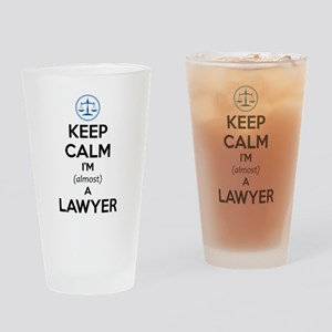 Law Student Bar Exam Gifts Law Scho Drinking Glass