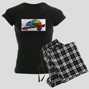 Rainbow Chameleon Pajamas