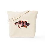 Ornate ctenopoma Tote Bag