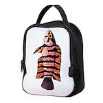 Ornate ctenopoma Neoprene Lunch Bag
