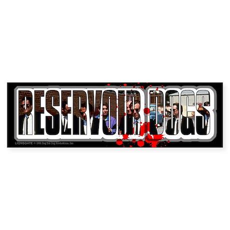Reservoir Dogs Splat Sticker (Bumper)