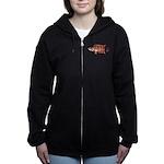 Ornate ctenopoma Women's Zip Hoodie