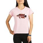 Ornate ctenopoma Performance Dry T-Shirt