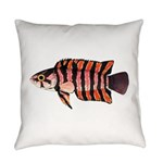 Ornate ctenopoma Everyday Pillow