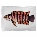 Ornate ctenopoma Pillow Sham