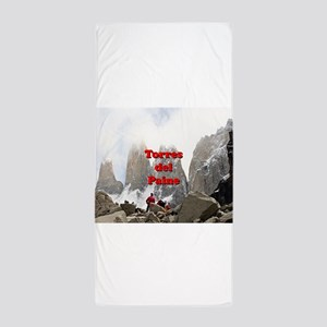 Torres del Paine, Chile Beach Towel