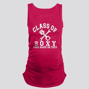 Class of 20?? Automotive Maternity Tank Top
