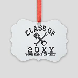 Class of 20?? Automotive Picture Ornament