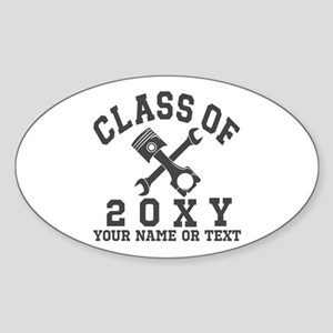 Class of 20?? Automotive Sticker (Oval)