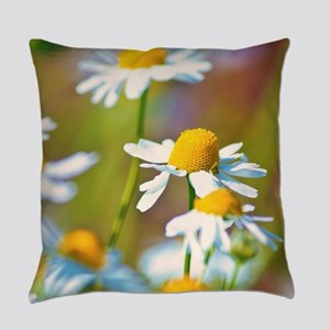 Summer Daisies Everyday Pillow