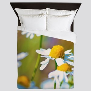 Summer Daisies Queen Duvet