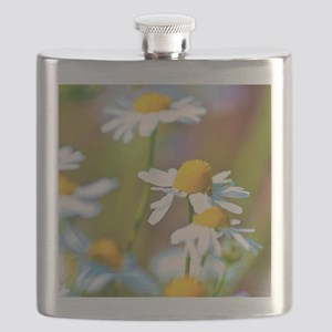 Summer Daisies Flask