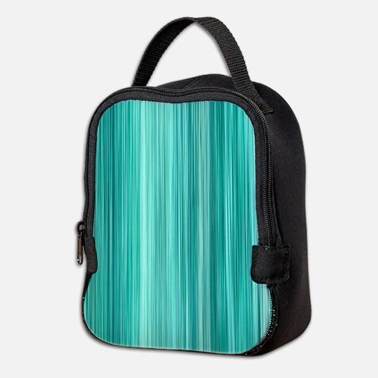 Ambient 5 in Teal Neoprene Lunch Bag