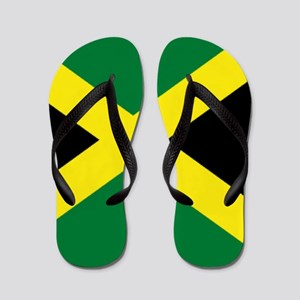 jamaican flag Flip Flops