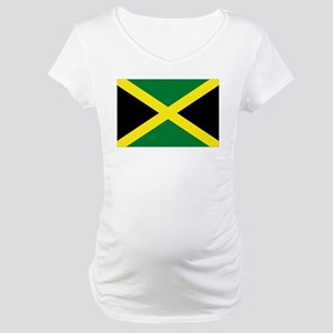 jamaican flag Maternity T-Shirt