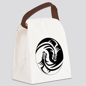 Dragon Circle Canvas Lunch Bag