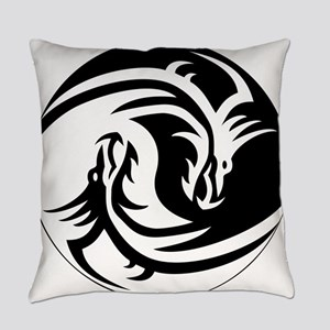 Dragon Circle Everyday Pillow