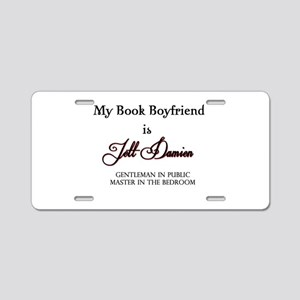Jett Damien Aluminum License Plate