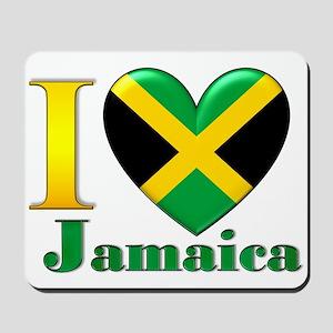 I love Jamaica Mousepad