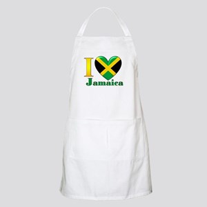 I love Jamaica Apron