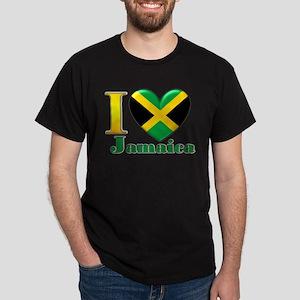 I love Jamaica Dark T-Shirt