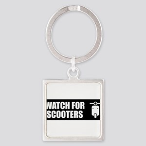 Watch For Scooters Keychains